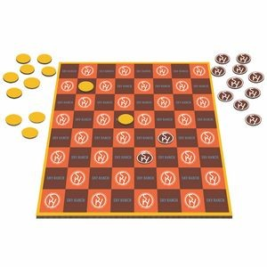 Table Top Checkers Game